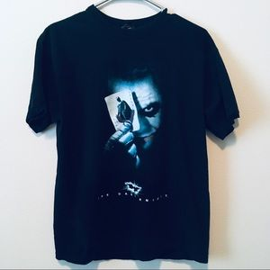 2x1 The Dark Knight Joker T-Shirt Sz M